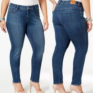 Lucky Brand Plus Size Emma Straight Jeans Size 16W